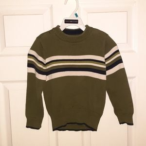 2/$20 Olive Green Tommy Hilfiger Sweater